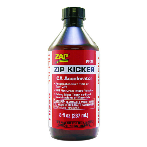 Zap Zip Kicker CA Accelerator Refill 237ml