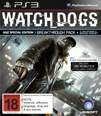 Watch Dogs ANZ Special Edition for PS3