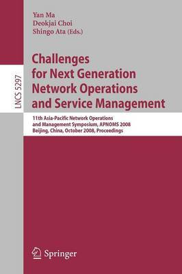 Challenges for Next Generation Network Operations and Service Management image