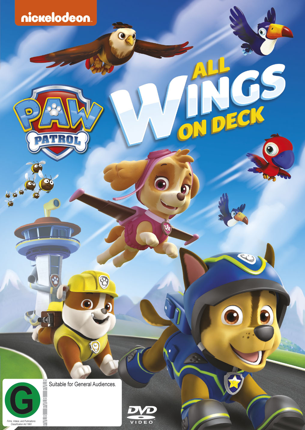 Paw Patrol - All Wings On Deck on DVD image