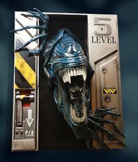 Aliens: Xenomorph Queen - Life-Size Wall Sculpture