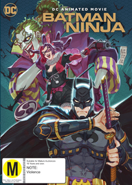 Batman: Ninja on DVD