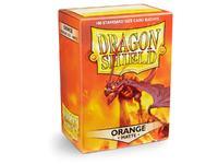Dragon Shield Matte Orange Sleeves