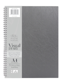 Winsor & Newton: A4 Sketch & Write Diary 110gsm/80gsm FSC Mix Credit