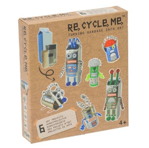 Re-Cycle-Me: Robots World