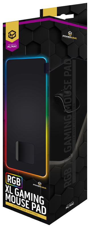 Powerwave RGB XL Gaming Mouse Pad for PC