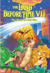 The Land Before Time - Vol 7 - The Stone Of Cold Fire on DVD