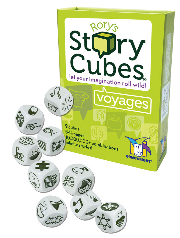 54 Patterns Fun Game Dice Cubes Toys Iconic Storytelling Game Imaginative Play