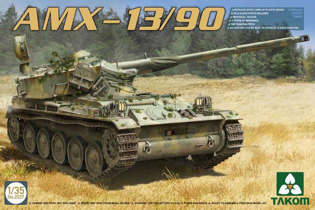 Takom 1/35 AMX-13/90 Model Kit