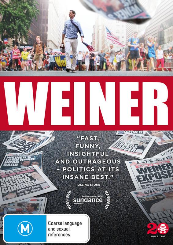 Weiner on DVD