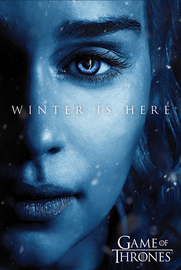 Game Of Thrones: Winter is Here - Daenerys Maxi Poster (678)