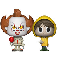 Pennywise + Georgie - Vynl. Figure 2-Pack