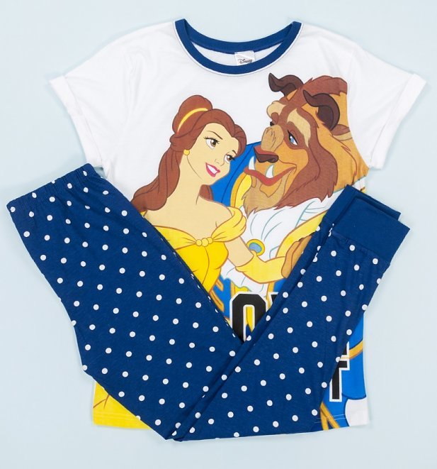 Disney: Beauty & The Beast (Polka-Dot) - Women's Pyjamas (12-14)