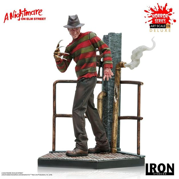 Nightmare on Elm Street: Freddy (Deluxe ver.) - 1:10 Scale Statue
