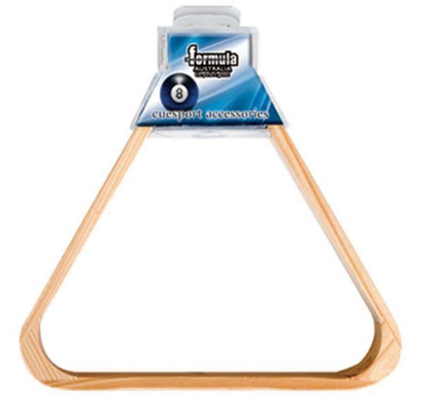 Formula Sports: Wood 15 Ball Triangle