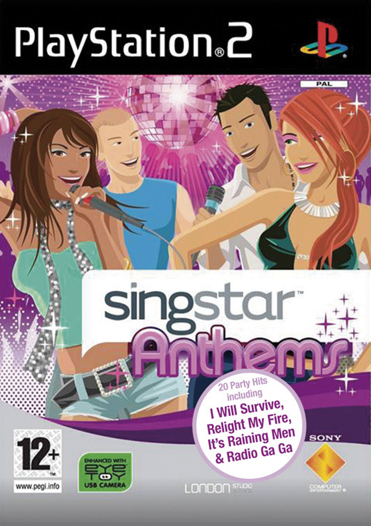 SingStar Anthems with Microphones for PlayStation 2