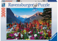 Ravensburger Mountains of Flowers Puzzle (3000pc)