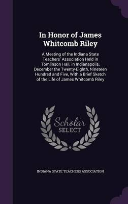 In Honor of James Whitcomb Riley image
