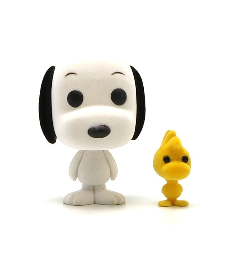 Peanuts - Snoopy & Woodstock (Flocked) Pop! Vinyl Figure image