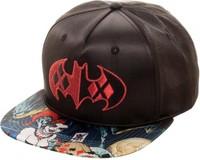 DC Comics: Harley Quinn - Satin Snapback Cap