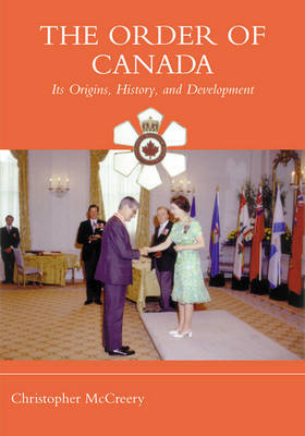 The Order of Canada by Christopher P. McCreery image