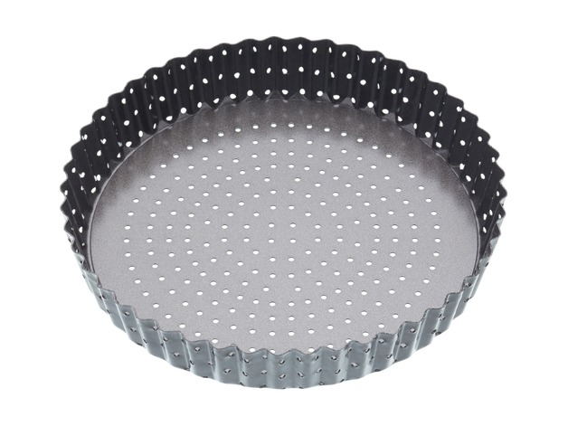 MasterClass: Crusty Bake Loose Base Round Flan/Quiche Pan (23cm)
