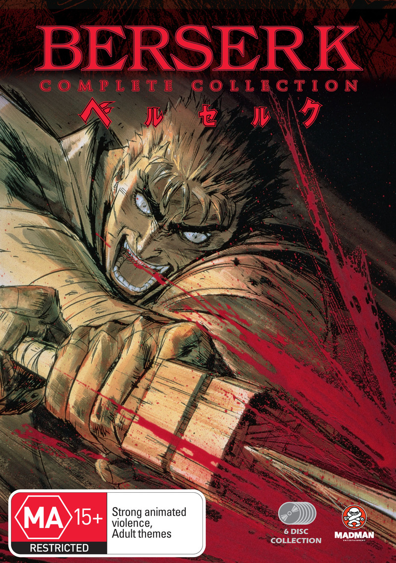 Berserk Collection (Fatpack) on DVD image