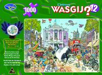 Wasgij Destiny 1000pc Puzzle - 12 Market Mayhem