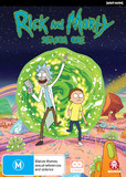 Rick and Morty - Season 1 on DVD