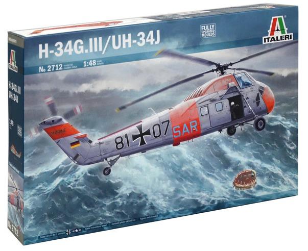 Italeri: 1/48 H-34G.III/UH-34J Helicopter - Model Kit