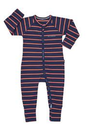 Bonds Ribby Zippy Wondersuit - Arizona Sunset/Double Denim (12-18 Months)