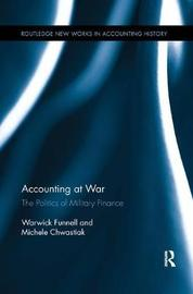 Accounting at War by Warwick Funnell image