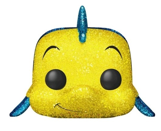 Little Mermaid - Flounder (Glitter Ver.) Pop! Vinyl Figure