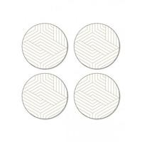 Deco Coasters - Round (Set/4)