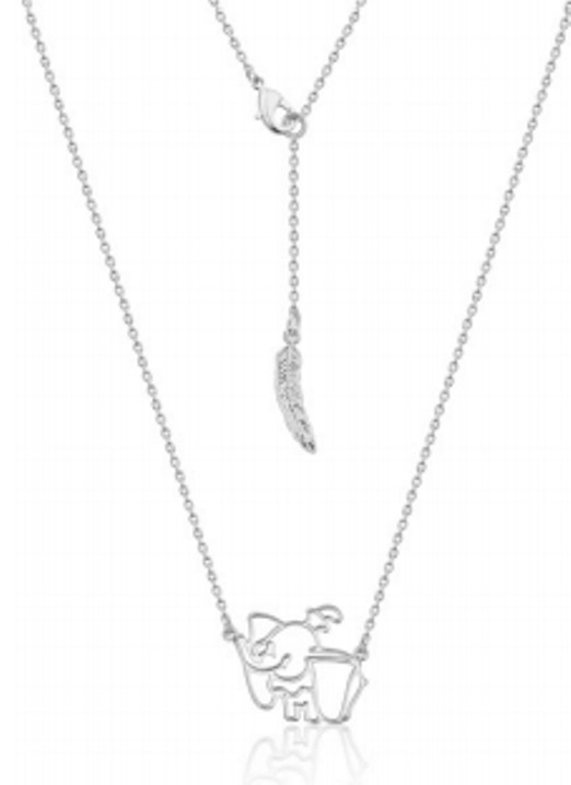 Couture Kingdom: Disney Dumbo Necklace - White Gold