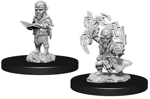 Pathfinder Deep Cuts: Unpainted Miniatures - Male Gnome Sorcerer image