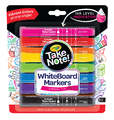 Crayola: Take Note - Chisel Tip Whiteboard Markers - 8 Colours (12 Pack)