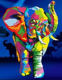 Diamond Dotz: Facet Art Kit - Elephants