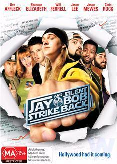 Jay and Silent Bob Strike Back on DVD