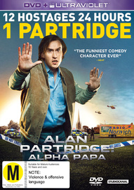 Alan Partridge: Alpha Papa on DVD