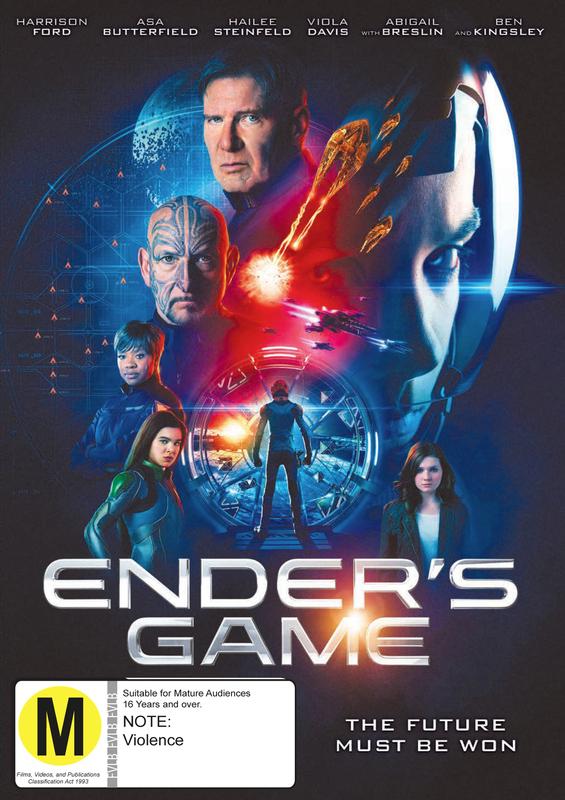 Ender's Game on DVD