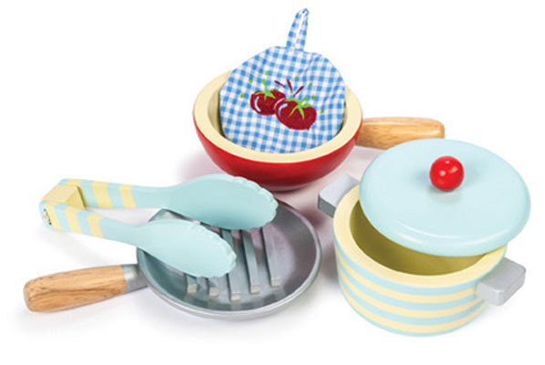 Le Toy Van: Pots and Pans Play Set image