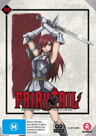 Fairy Tail Collection 21 - (Eps 240-252) on DVD