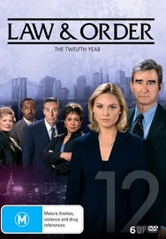 Law and Order - The Twelfth Year on DVD