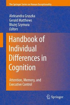 Handbook of Individual Differences in Cognition image