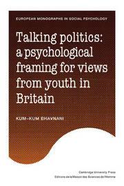European Monographs in Social Psychology by Kum-Kum Bhavnani