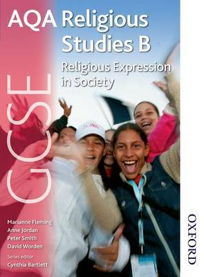 AQA GCSE Religious Studies B - Religious Expression in Society by Anne Jordan image