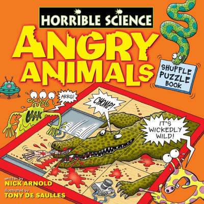 Angry Animals Shuffle Puzzle Book by Nick Arnold image