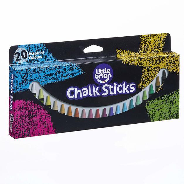 Little Brian: Chalk Sticks (20 Pack)