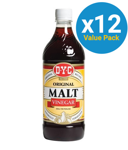 DYC: Malt Vinegar 750ml (12 Pack)
